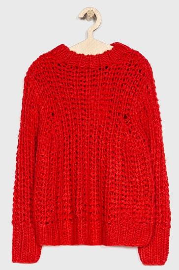 pulover fete rosu