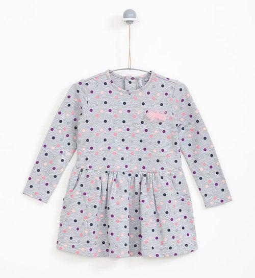 rochie fete cu bulinite