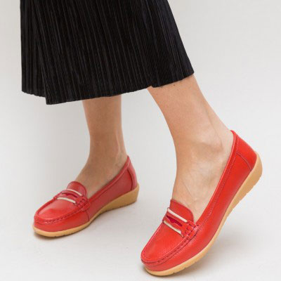 Pantofi Casual Grifis Rosii