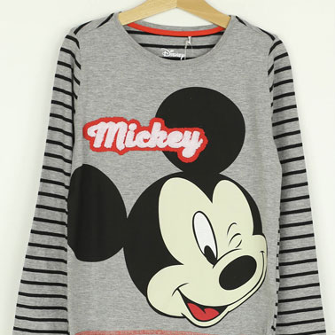 Bluza Reserved Mickey Mouse Grey