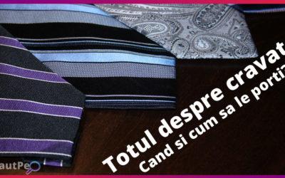 Totul despre cravate – cand si cum sa le porti?