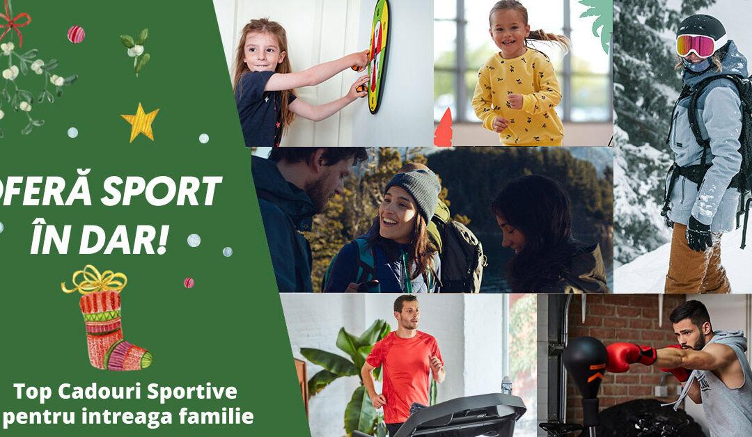 Top cadouri sportive pentru intreaga familie – Nu lasa sezonul rece sa te tina in casa